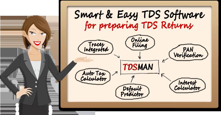 Tdsman Tds Software For Etds Return Filing With Free Download